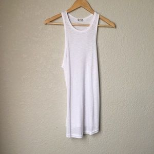 New Free People White Tank Top